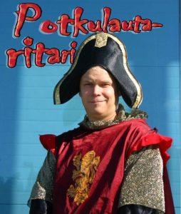 Potkulautaritari Tuomo Karppinen Lahti harjakaiset häät