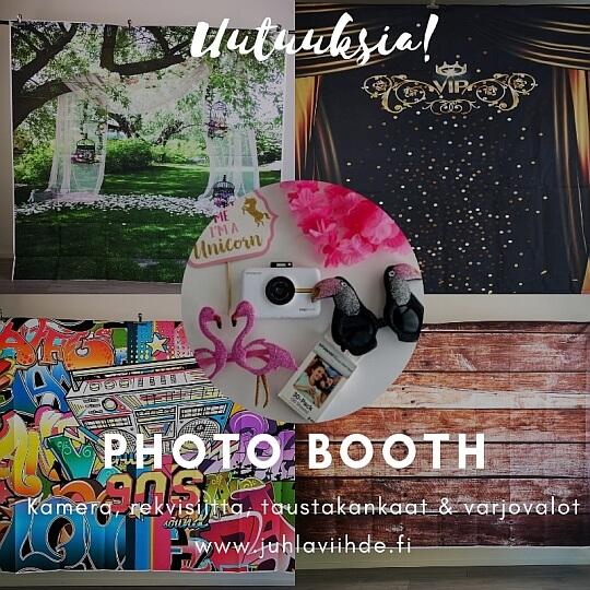 Photo Booth häät juhlat