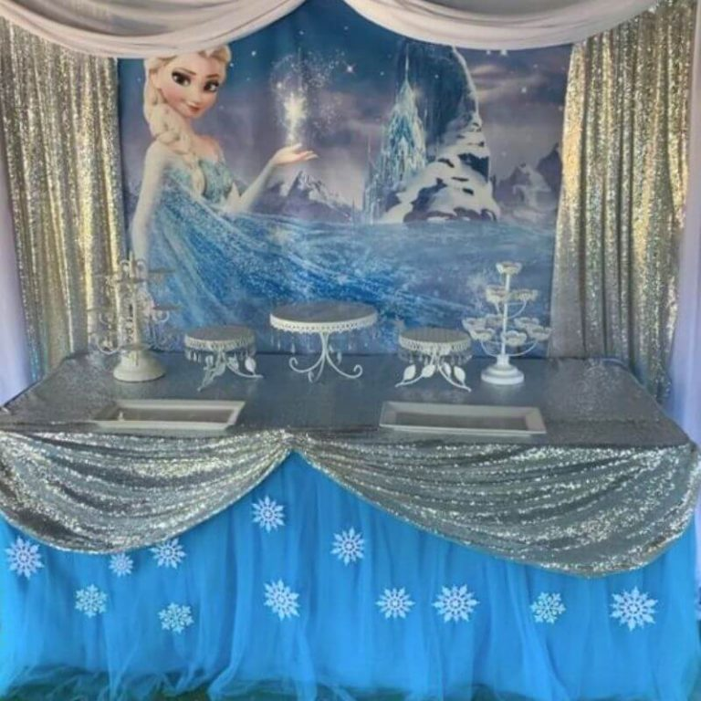 frozen teemajuhlat