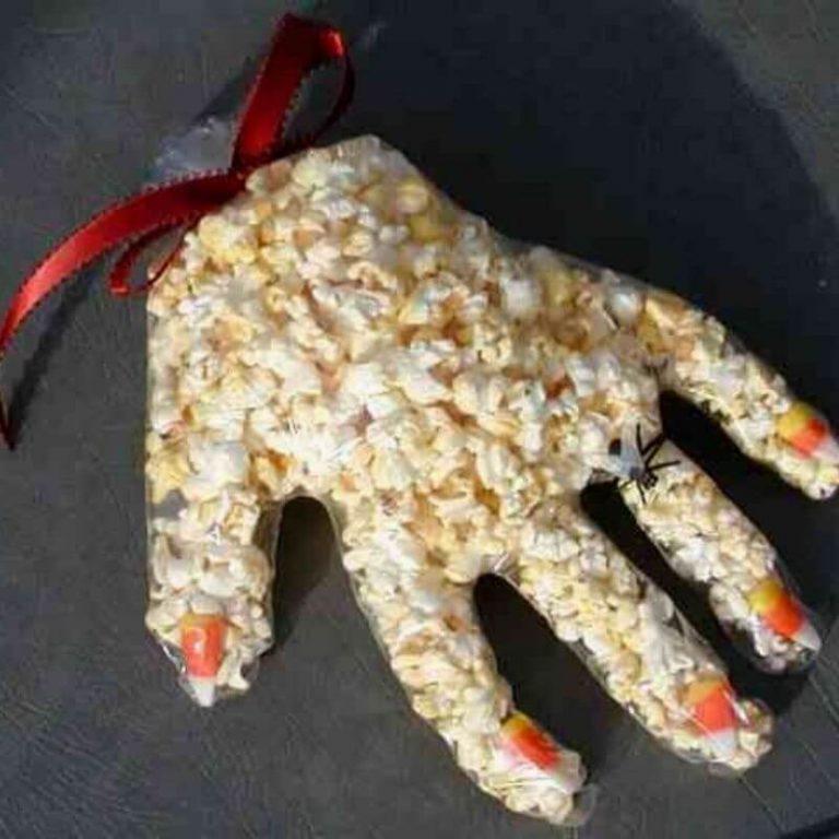 popcorn kone halloween.