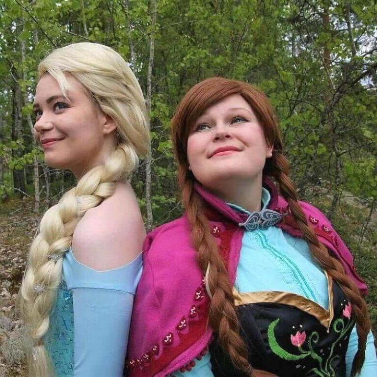frozen prinsessa elsa