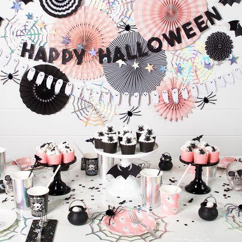 halloween synttärit koristelu
