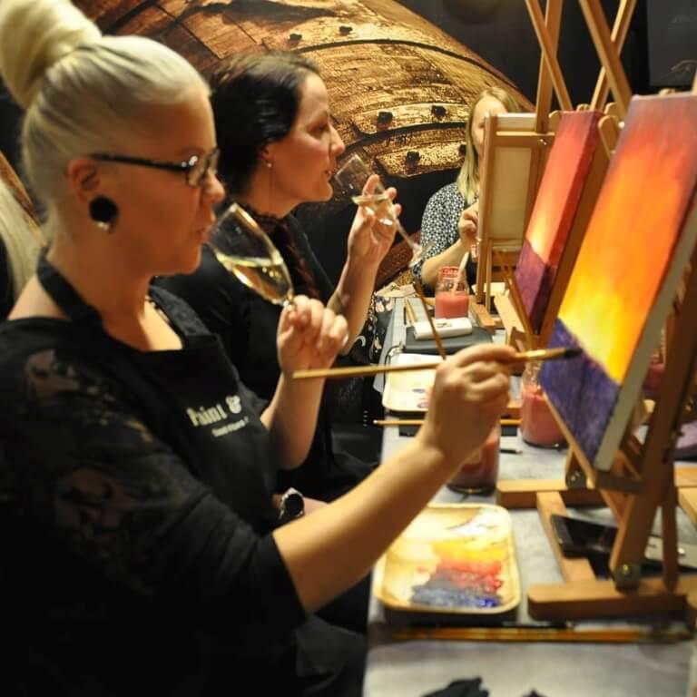 taidemaalauskurssit opi maalaamaan