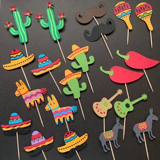 meksikolaiset teemajuhlat ruoka