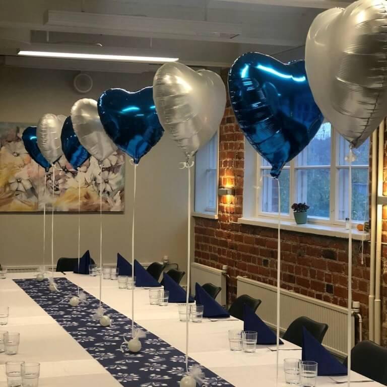 heliumpallot juhliin