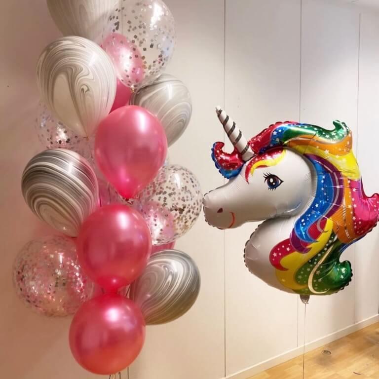 konfetti ilmapalloja