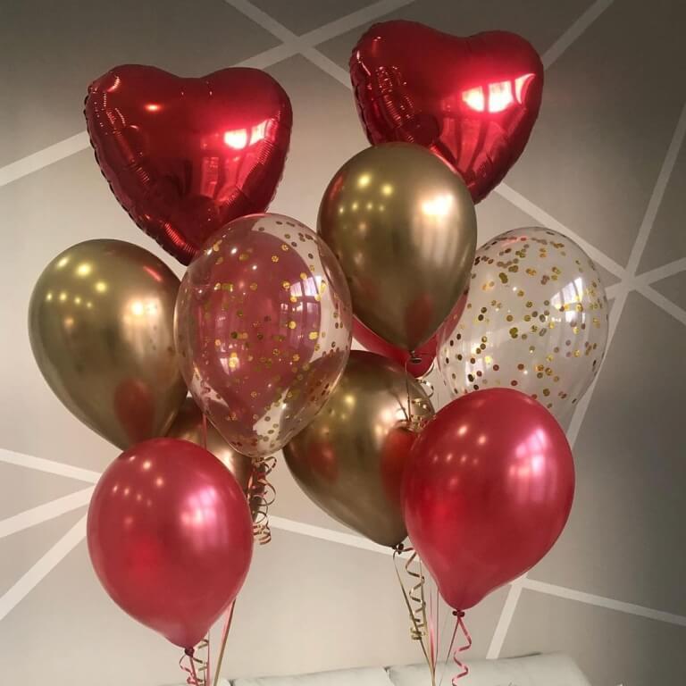 konfetti ilmapallot