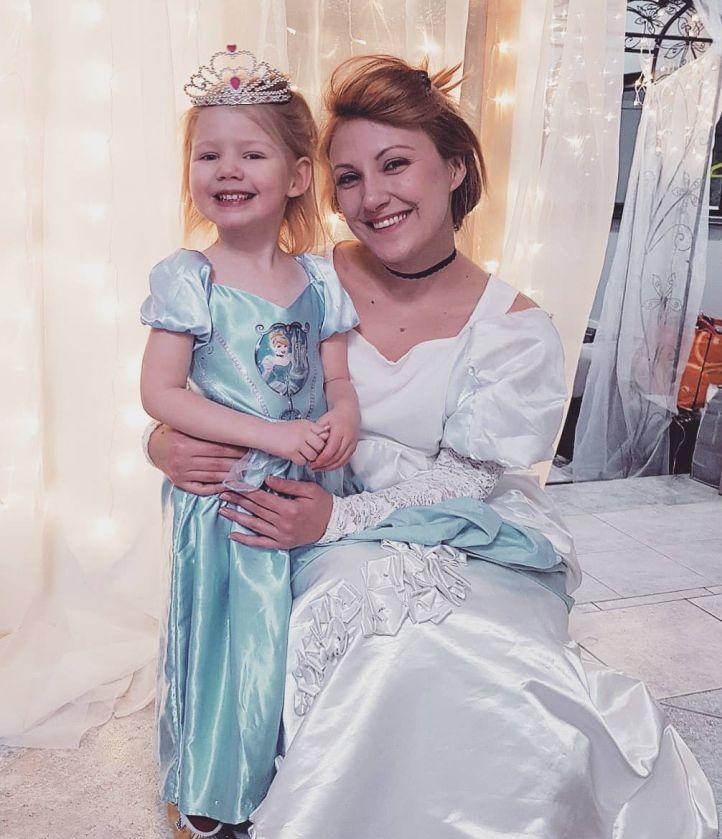 prinsessa hahmo lastenjuhliin