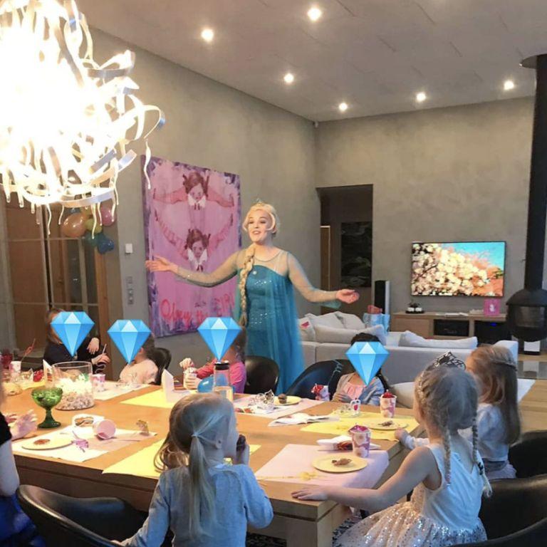 prinsessa synttärit juhlat