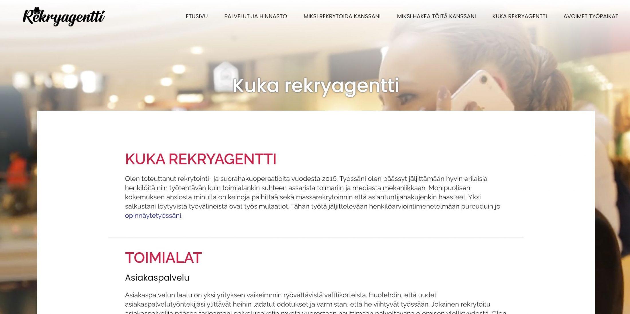 nettisivut yritykselle hinta
