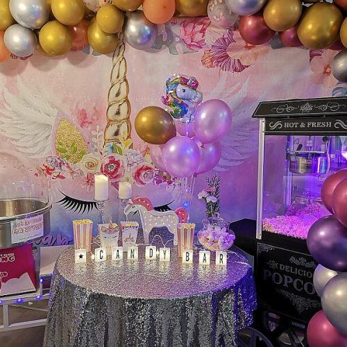 unicorn juhlat teema